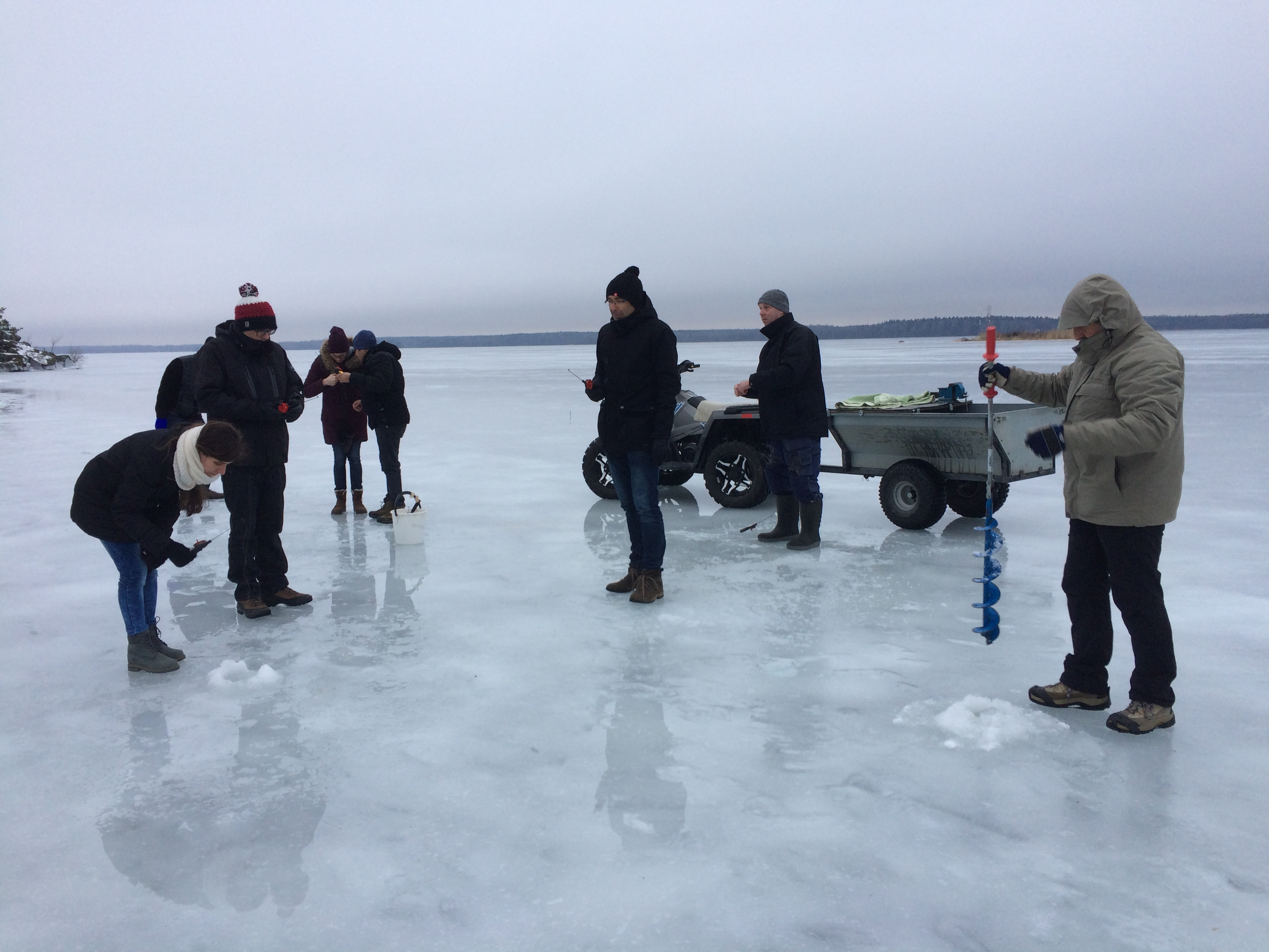 Excellence in analytical chemistry each winter school for The fishing school