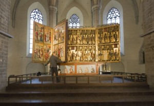 Retable of the high altar of the St. Nicholas' (Niguliste) Church in Tallinn