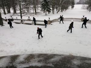EACH_Winter_School_2016_Snow_Fight